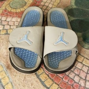 67879aa1322143 Jordan Shoes - Jordan Hydro XIII Retro Men s Slides  Blue-Gray